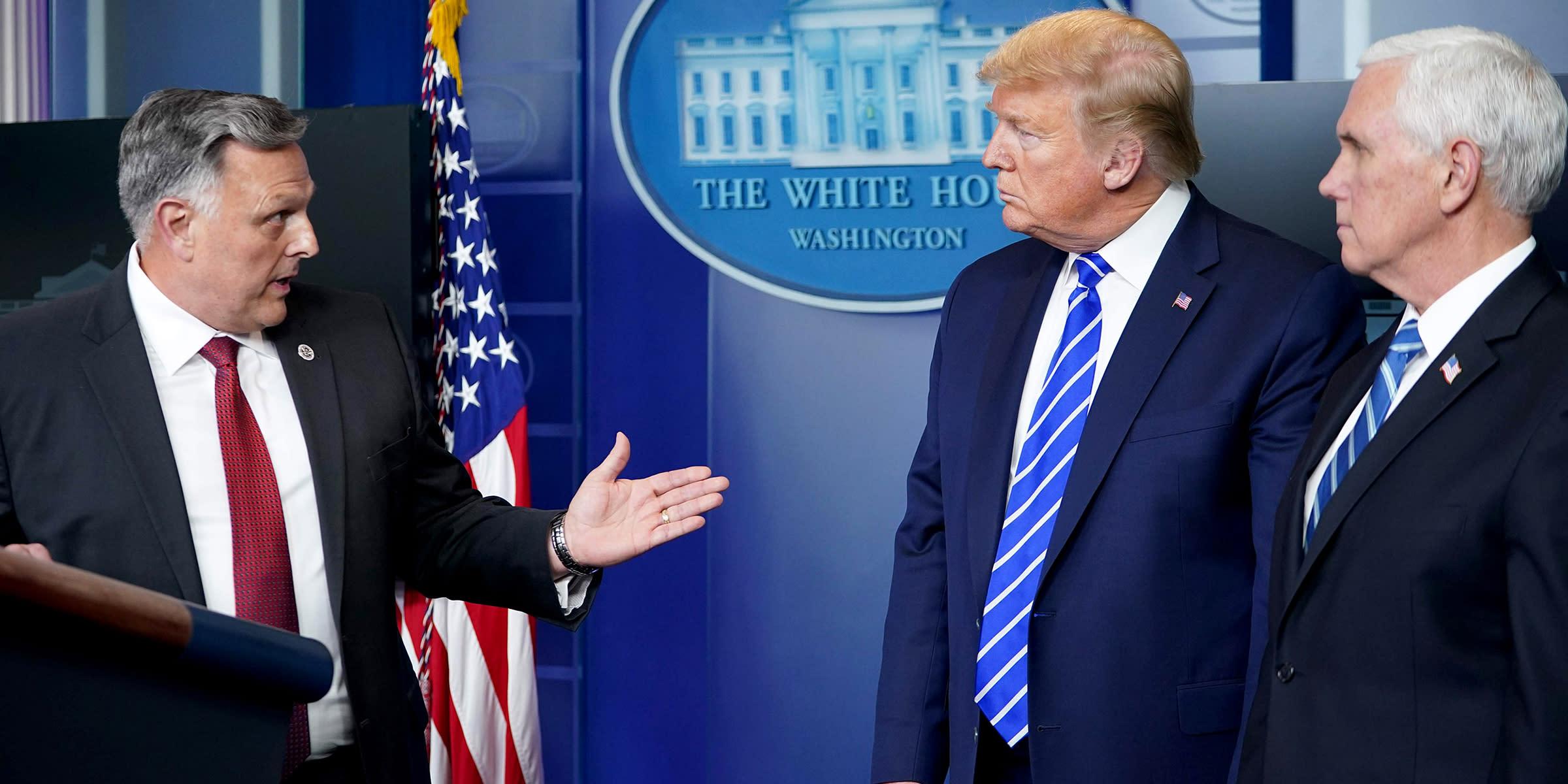 Trump backtracks on bleach injection treatment claim