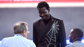 Bol Bol brings intrigue to NBA draft fashion