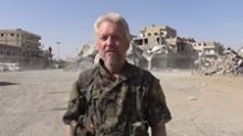 Manchester-Born Actor and YPG Volunteer Michael Enright Plays Ariana Grande Song in Raqqa
