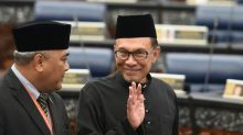 Malaysian leader in waiting Anwar in triumphant return to parliament