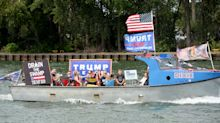 Trump boat parade draws hundreds in Pennsylvania: 'We are the majority and we're going to make some noise'