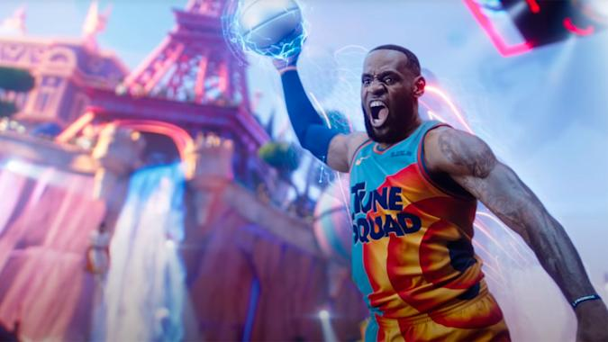 LeBron James in the trailer for 'Space Jam: A New Legacy' on HBO Max