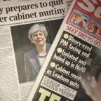 'End of the road': Theresa May hangs on as leadership crisis deepens - what the papers say