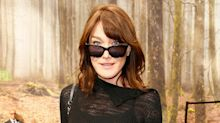 Carla Bruni-Sarkozy Masters the French Bob—And Dark Sunglasses for Day—At Chanel