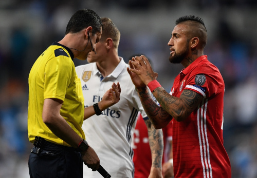 Meet the Real Madrid-Bayern referee who has been involved in big controversy before