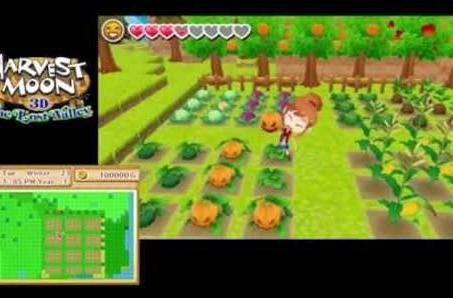 Harvest Moon: The Lost Valley trailer talks farmlife fantasies
