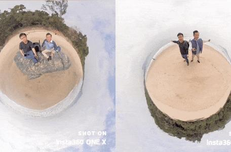 Facebook's 3D photos will work with Insta360's 'tiny planet' images
