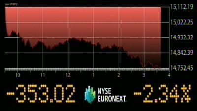 Stocks Tumble After Fed Signals Changes