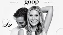 Gwyneth Paltrow Officially Announces Engagement on the Cover of Goop Magazine