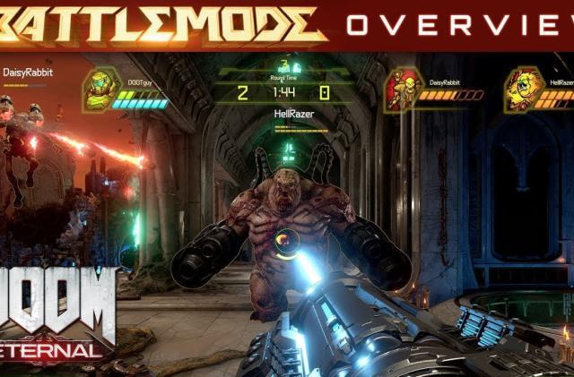 'Doom Eternal' multiplayer trailer highlights strategic gameplay