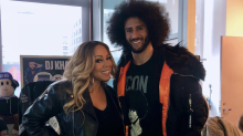 Mariah Carey calls meeting Colin Kaepernick 'an honor,' sparking argument among fans