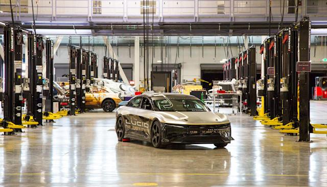 Lucid Motors doesn't want to be a 'Tesla Killer'