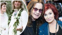 The Osbournes mark their anniversary with amazing flashback wedding photo