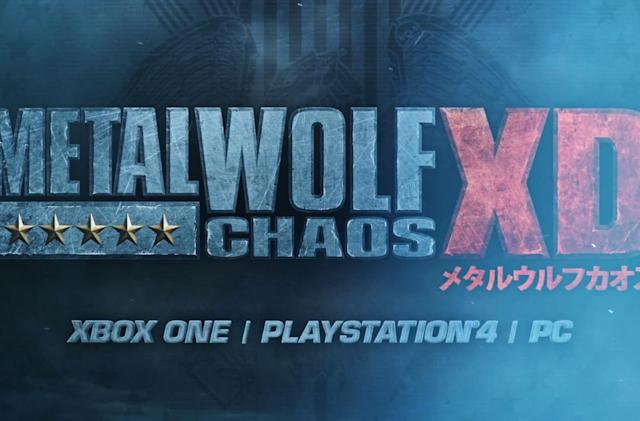 Xbox Japan's cult hit 'Metal Wolf Chaos' is back