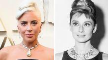 Oscar 2019: Lady Gaga usa diamante de Audrey Hepburn em 'Bonequinha de Luxo'