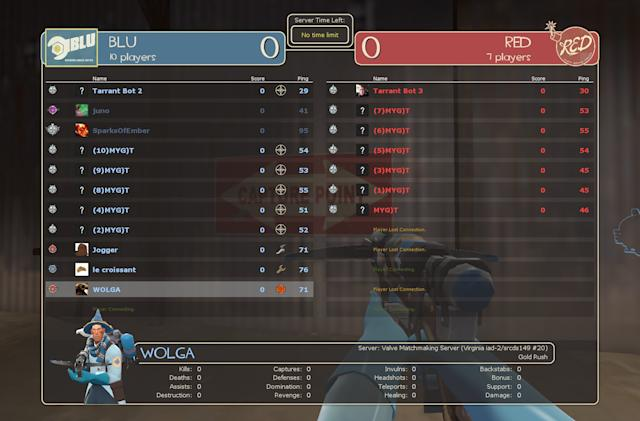 Valve is allowing racist bots to invade 'Team Fortress 2'