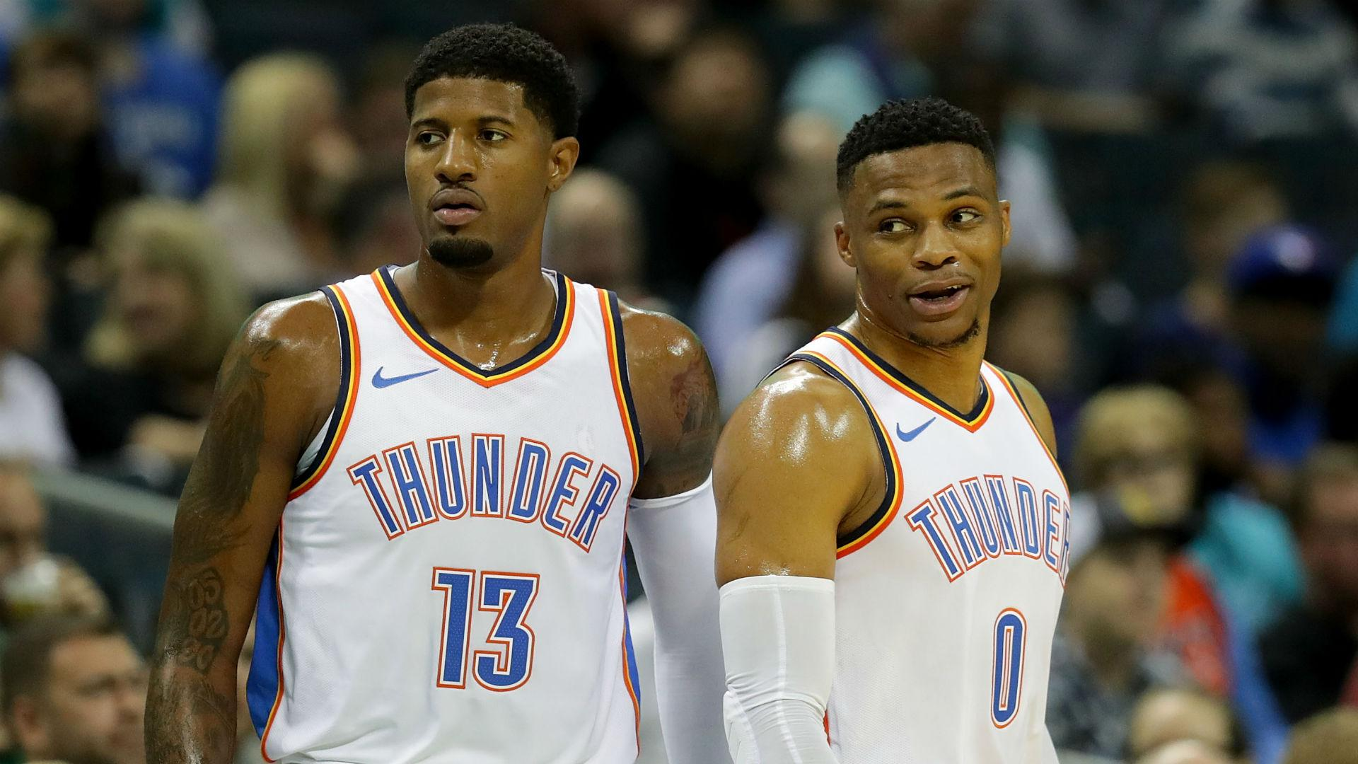 Thunder's first-round draft picks after trading Russell Westbrook and Paul George