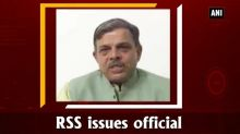 RSS issues official stand on reservation issue