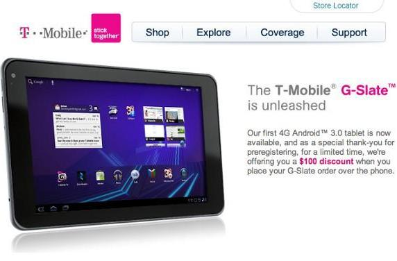 T-Mobile willing to knock $100 off G-Slate, if you ask nicely