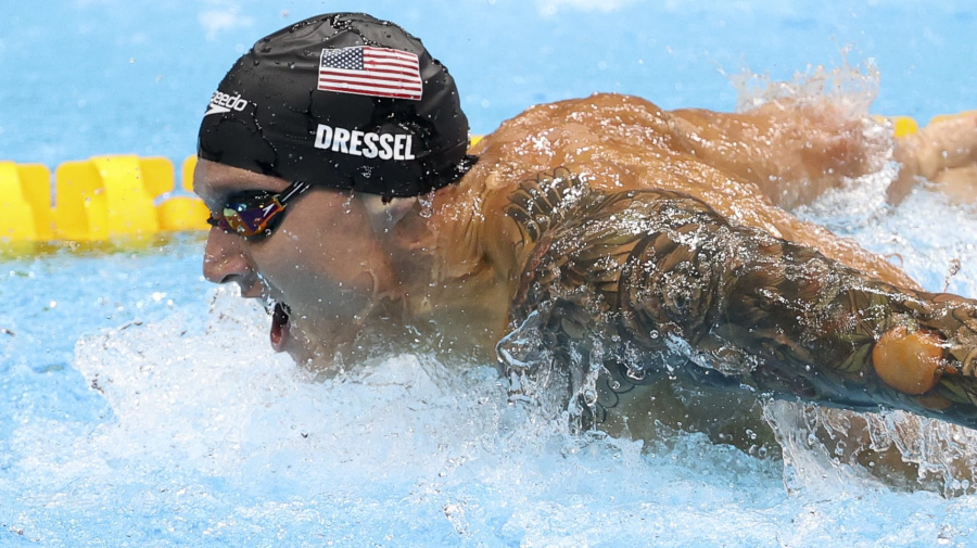 Watch live: Last day of Olympic swimming