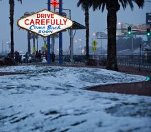 Storm dropping snow on Las Vegas; 1 inch reported at airport