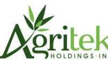 Agritek Holdings, Inc. Announces Agreement Between Subsidiary Full Spectrum Biosciences Inc. and California Based Biomedican, to Produce First Yeast Based Cannabinoid Compounds
