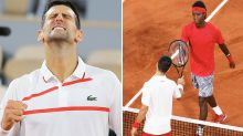 'Like a snake': Novak Djokovic stuns French Open with 'brutal' act