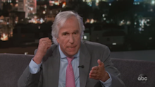 Henry Winkler talked a distraught suicide jumper off the ledge