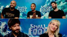 Los actores de doblaje de Smallfoot nos cuentan por qué no podemos perdérnosla