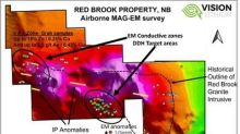 Vision Lithium Launches Inaugural Drill Program on Red Brook Copper/Zinc Property