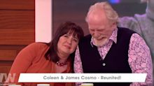 CBB's Coleen Nolan & James Cosmo reunite on Loose Women