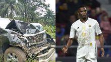 Samuel Eto'o sobrevive a un accidente de tráfico brutal en Camerún