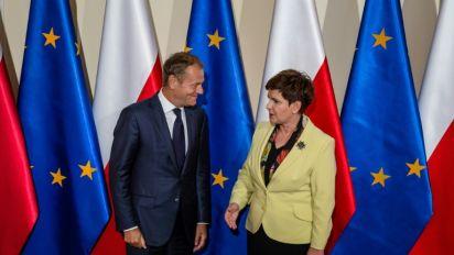 "Poland tensions with Ukraine and EU ""Kremlin plan"": Tusk"