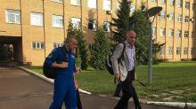 Canadian astronaut David Saint-Jacques preparing for mission