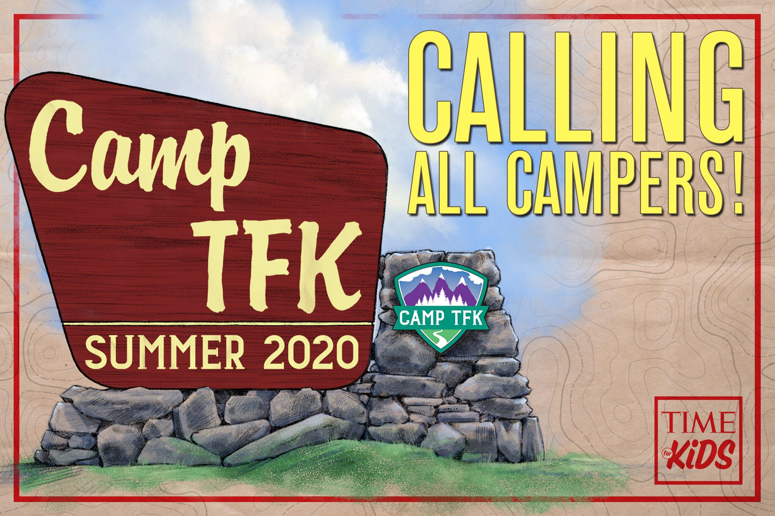 TIME for Kids Launches Camp TFK, a Free Newsletter of Daily Activities to Keep Kids Engaged with Trusted and Fun Educational Content this Summer