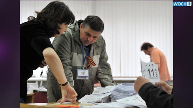 Pro-Russians Finding Less Support For Vote In East Ukraine