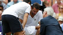 Marin Cilic's Wimbledon meltdown: what are the best ways of overcoming pain?