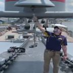 Battleship New Jersey Salutes Nation On July 4th
