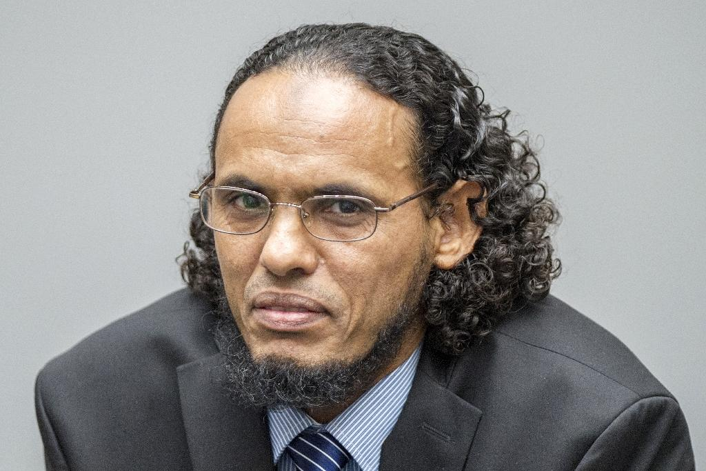 Islamist leader Ahmad Al-Faqi Al-Mahdi has been jailed for nine years (AFP Photo/Patrick POST)