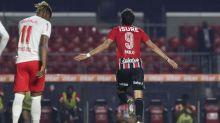Artilheiro ao lado de Daniel Alves, Pablo analisa gols e posicionamento