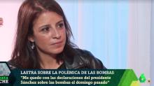 La comentada respuesta de Adriana Lastra en 'LaSexta Noche' al ser preguntada por su currículum