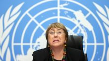 U.N. rights chief decries arrests in China, abuses in Xinjiang