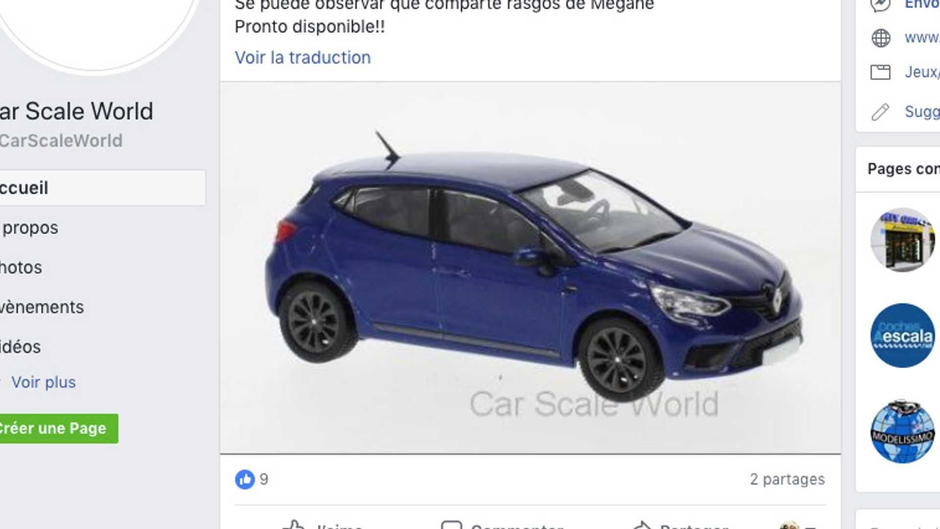 Parece Que El Renault Clio 2019 Se Ha Dejado Ver A Escala