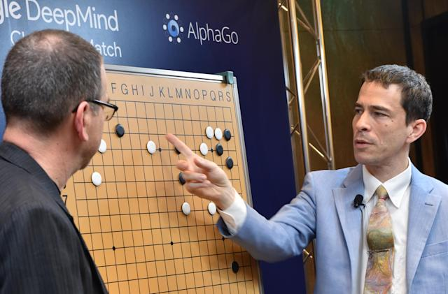 Google's Deepmind AI beats Go world champion in first match