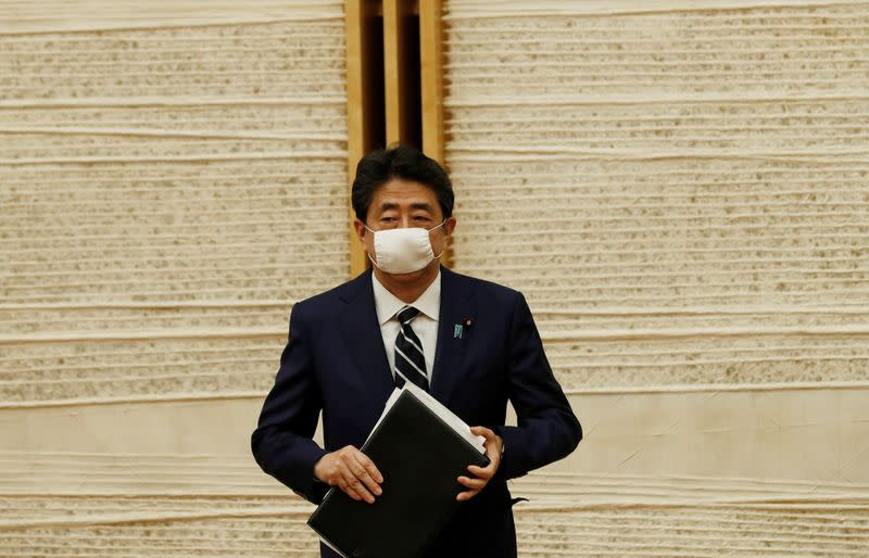 Japan PM Abe: 'Very regrettable' that Taiwan was not observer at WHO assembly