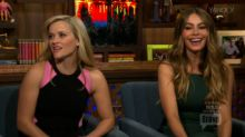 Reese Witherspoon and Sofia Vergara on Their Onscreen Kiss in 'Hot Pursuit'
