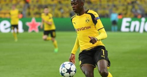 Foot - C1 - Dortmund - Borussia Dortmund : Thomas Tuchel lance Ousmane Dembélé dès la 27e minute