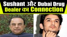 Dubai Drug Dealer Met Sushant On The Day Of Murder Says Subramanian Swamy