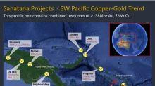 Sanatana Acquires Letter of Intent over 188 Km Sq Sutakiki Copper and Gold Project, Solomon Islands