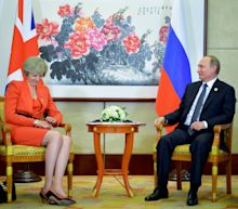 Theresa May Should Go After Putin's Debt